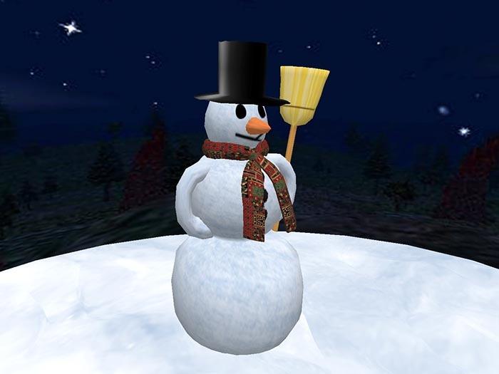 Snowman (only 4 prims!)