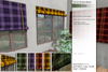 Sway's [Sarad] Roll Up Window Blinds . Plaid