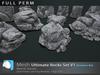 Ultimate rocks set v1   prim 3d %282%29