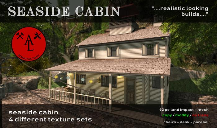 AL Seaside Cabin - Summer SALE - 20 %