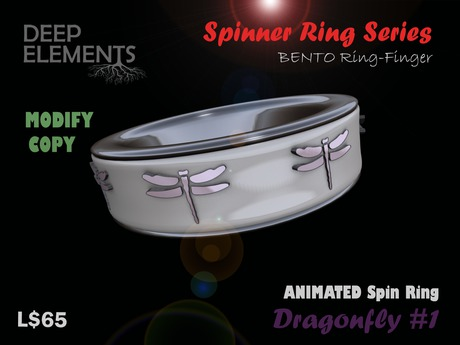 [DeepElements] : Spin Ring - Dragonfly #1