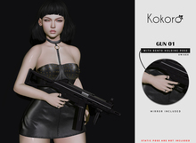 Kokoro Poses - Gun 01 Holding
