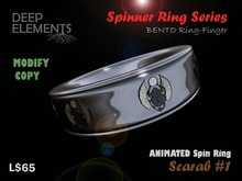 [DeepElements] : Spin Ring - Scarab #1