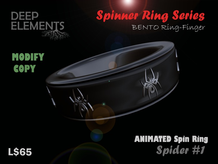 [DeepElements] : Spin Ring - Araña # 2