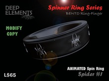 [DeepElements] : Spin Ring - Spider #2