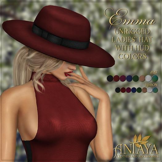 :: ANTAYA :: Ladies' hat <Emma>