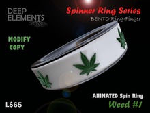 [DeepElements] : Spin Ring - Weed #1