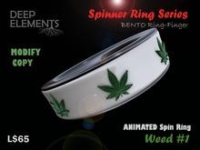 [DeepElements] : Spin Ring - マリファナ#1
