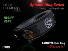 [DeepElements] : Spin Ring - Wiccan #1