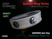 [DeepElements] : Spin Ring - YinYang Paws #1