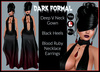 [DB] Dark Formal Gown Includes Heels and Jewelry - Maitreya Belleza Ebody Slink