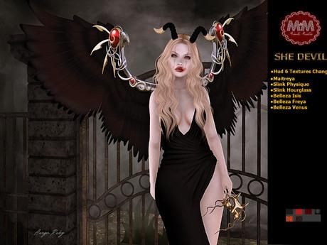 PROMO HALLOWEEN - M&M-SHE DEVIL-SEP19