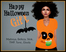 GIFT - Happy Halloween Face Fitted Tee - Maitreya, Ebody, TMP, Belleza, Slink, Tonic