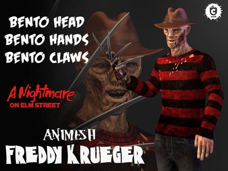 :: UCM :: Freddy Krueger Animesh - Bento