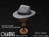 Ohana Fedora Light Gray (WEAR TO UNPACK)