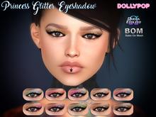 ~Dollypop~ Princess Glitter Eyeshadow - Bake On Mesh & Omega