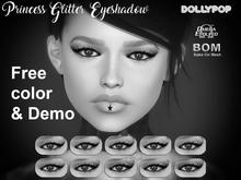 ~Dollypop~ Princess Glitter Eyeshadow BOM & Omega Freebie Demo