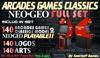 = Neo Geo Model 2 Arcades Games Set = (COPY) [BOX]
