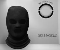 O U T R É  //  SkiMasked : Black
