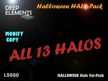 [DeepElements] : Halloween HALO Fat-Pack