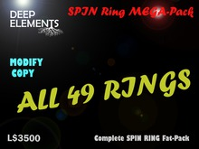 [DeepElements] : MEGA SPIN RING Fat-Pack