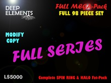 [DeepElements] : MEGA COMPLETE HALO & SPIN RING Fat-Pack