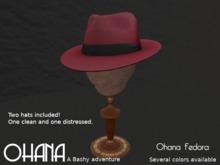 Ohana Fedora Chili Pepper (WEAR TO UNPACK)