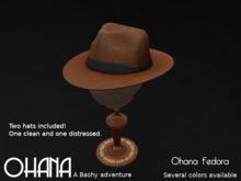 Ohana Fedora Whisky (WEAR TO UNPACK)