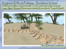 *Ya's* Sandstone Pathway / Copy+Mod ( Box)