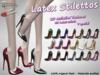 -VD- Latex Stilettos - Maitreya BAG (wear to unpack)