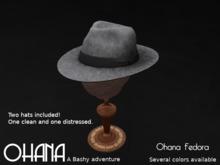 Ohana Fedora Medium Gray (WEAR TO UNPACK)