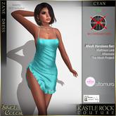 :KR: Zane Dress - Cyan