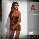 :KR: Serenity Dress - Bronze