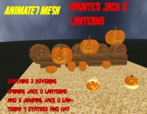 Haunted Jack O' Lanterns boxed