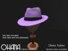 Ohana Fedora Lavender (WEAR TO UNPACK)
