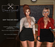 -Ema's Secret- Teacher Dress fatpack (add me)