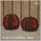 Sequel - Felwithe Pumpkin - Wine - Autumn Decoration