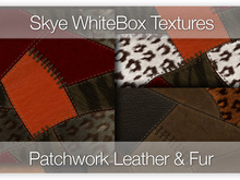Patchwork Leather & Fur - Skye WhiteBox Full Perms Textures