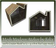 Mesh Modern Atelier by Felix 10 Li = 9x8m Size copy-mody