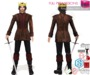%50SUMMERSALE Full Perm King Dress With Boots Costume | Slink Male Belleza Jake Signature Gianni Ocacin Gamit Classic
