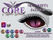 CORE NEON KITTY EYES FATPACK