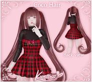 [KRR] Coco Hair (FATPACK)