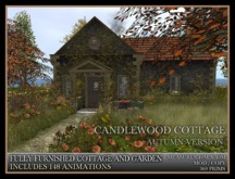 TMG - CANDLEWOOD COTTAGE IN AUTUMN - Fully Furnished Fairytale home with Landscaped Garden