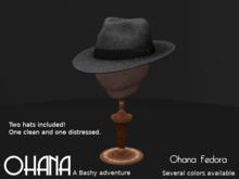 Ohana Fedora Dark Gray (WEAR TO UNPACK)