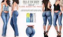 Blueberry - Natalia - Flare Jeans - DEMO