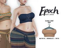 .EPOCH. cammie crop. nude