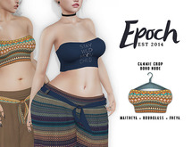 .epoch. camie crop. nude. boho