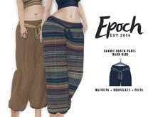 .EPOCH. cammie harem pants. dark blue.