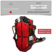 :::SOLE::: SA - armor STC01 (RED)