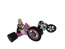 Big Wheel Trike -  Dinkies & Toodleedoo - WEARABLE
